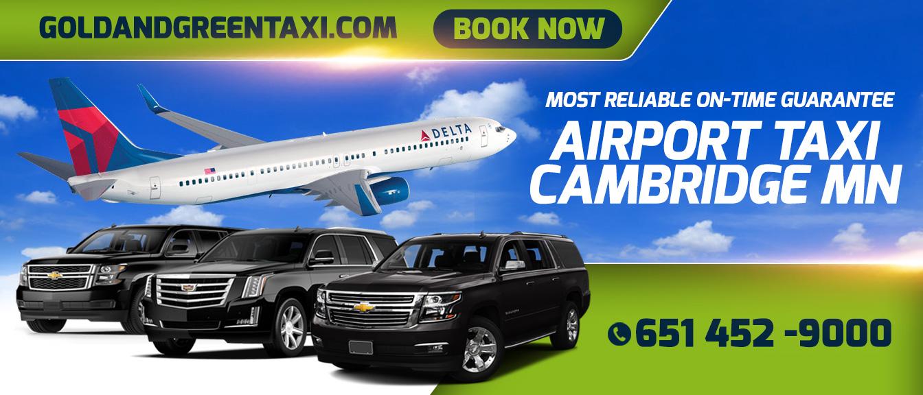 Airport Taxi Cambridge mn