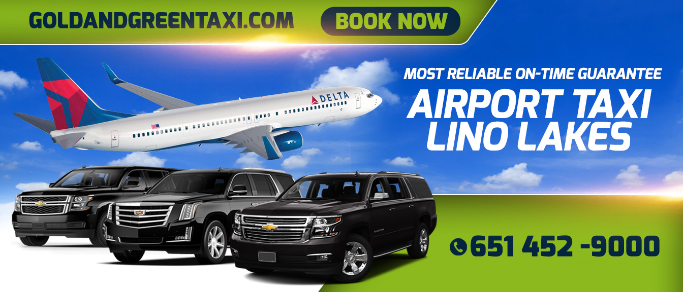 Lino Lakes MN Airport Cab